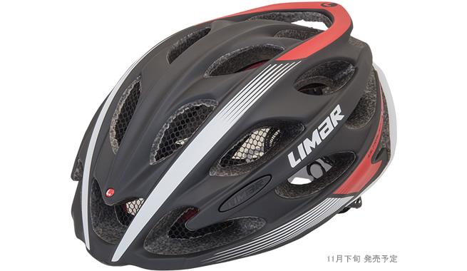 (送料無料)LIMAR リマール Helmet ヘルメット ULTRALIGHT+ ウルトラライト+ マットブラック/レッド