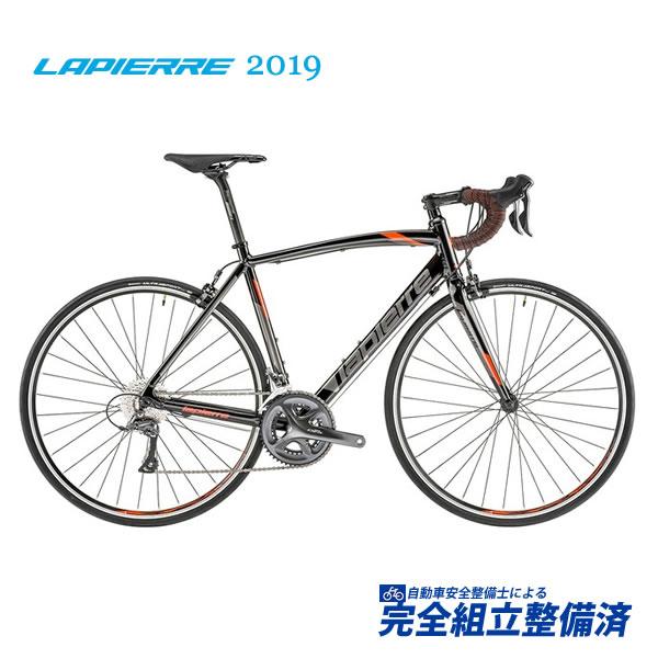 ロードレーサー 2019 LAPIERRE ラピエール AUDACIO 100 アウダシオ 100 ブラック/オレンジ