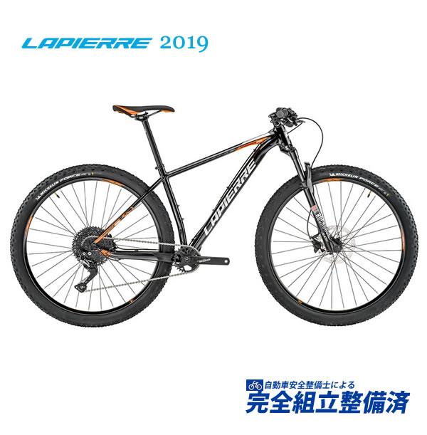 (選べる特典付!)マウンテンバイク 2019 LAPIERRE ラピエール PRORACE 229 プロレース 229 ブラック/オレンジ