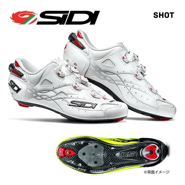 (送料無料)SIDI シディ ROAD SHOES ロードシューズ SHOT ショット ホワイトホワイト