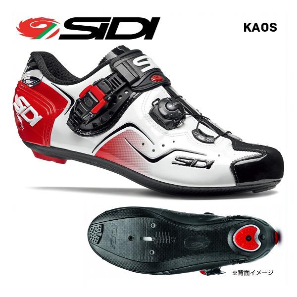 (送料無料)SIDI シディ ROAD SHOES ロードシューズ KAOS カオス ホワイトブラックレッド