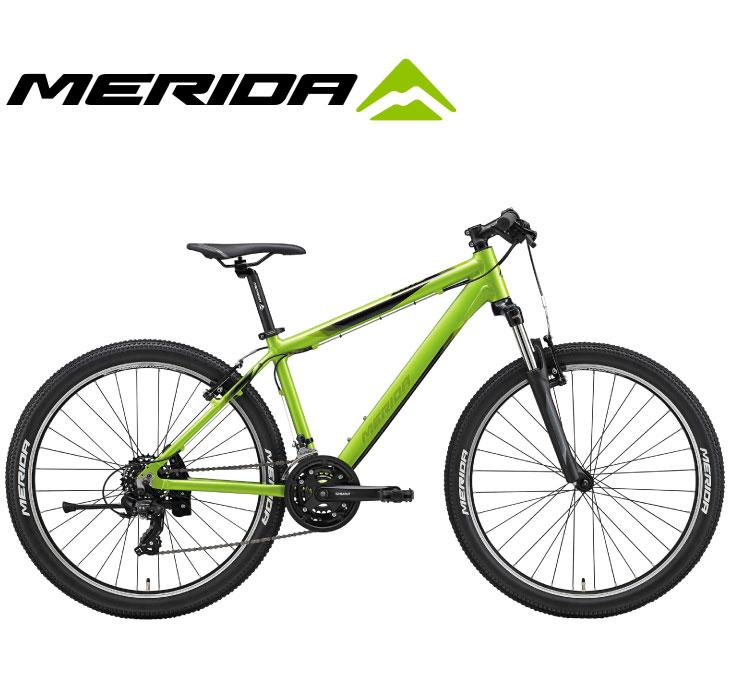 """(選べる特典付)マウンテンバイク 2020 MERIDA メリダ MATTS 6.5-V マッツ6.5V グロッシーグリーン(オリーブ/ブラック)【EG40】 21段変速 26""""ホイール"""
