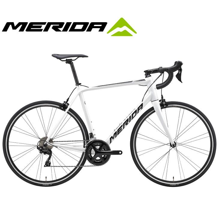 (選べる特典付)ロードバイク 2020 MERIDA メリダ SCULTURA 400 スクルトゥーラ400 ホワイト(ブラック)【EW42】 SHIMANO 105 2×11SP 700C アルミ