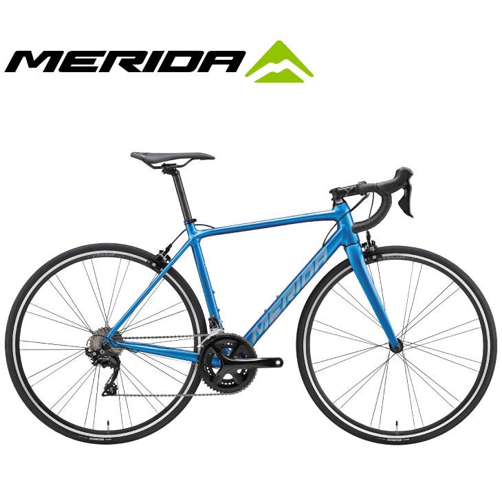 (選べる特典付)ロードバイク 2020 MERIDA メリダ SCULTURA 400 スクルトゥーラ400 シルクライトブルー(シルバーブルー)【EB78】 SHIMANO 105 700C アルミ