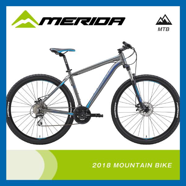 (特典付)マウンテンバイク 2018年モデル MERIDA メリダ BIG NINE 20-MD ビッグナイン20-MD シルクアンスラサイト(スカイブルーブルー) ES36