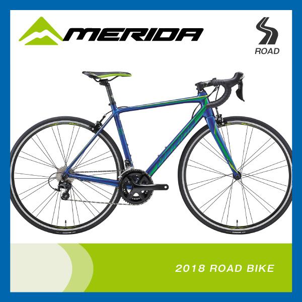 (特典付)ロードレーサー 2018年モデル MERIDA メリダ SCULTURA 400 スクルトゥーラ400 ブルー(グリーン) EB53