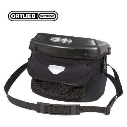 (送料無料)ORTLIEB オルトリーブ ハンドルバーバッグ ULTIMATE6 PRO E アルティメイト6プロE ブラック(F3250E)(アタッチメント付属)