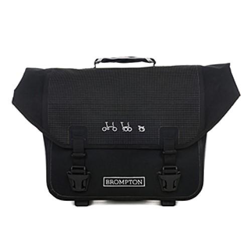 BROMPTON ブロンプトン BAG バッグ O BAG Oバッグ ブラック/リフレクティブ