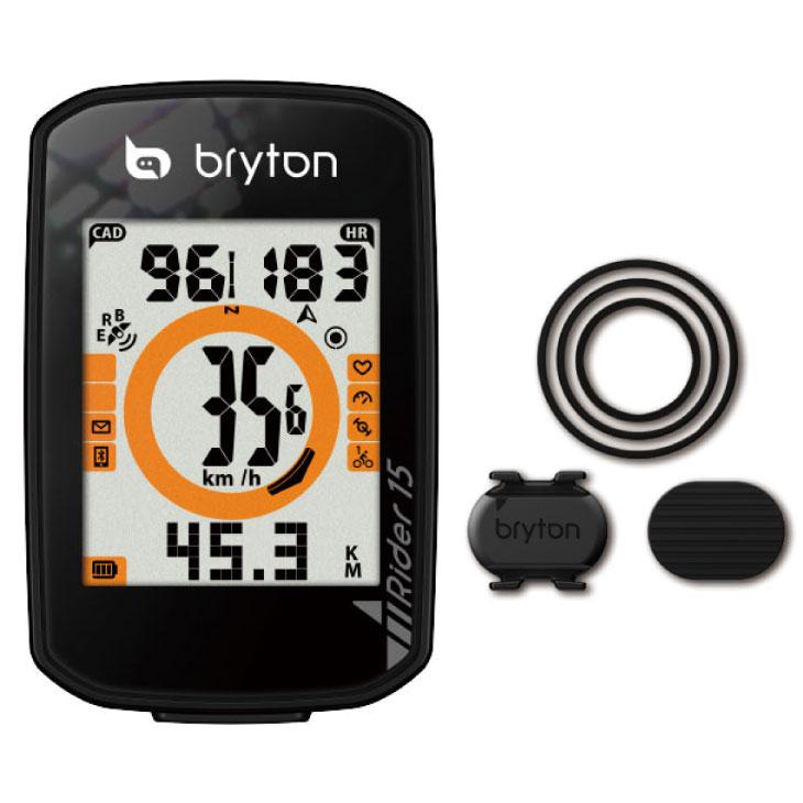 Bryton ブライトン Rider 15 C ライダー15C (ケイデンスセンサー付属) サイクルコンピューター(4718251592705)