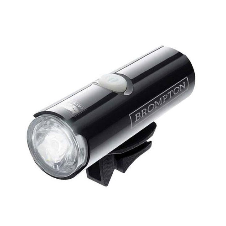 (即納)BROMPTON ブロンプトン BATTERYLAMP-FRONT SET バッテリーランプ フロントセット (CATEYE VOLT 400 XC) USB充電式 ヘッドライト (5053099016785)