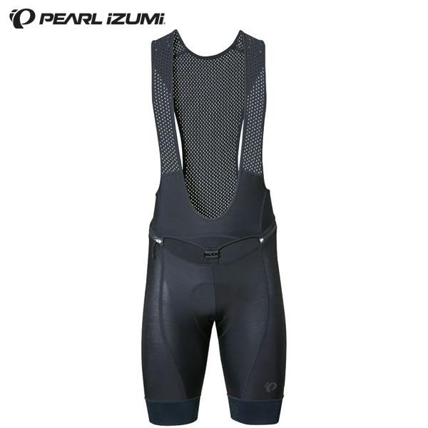 (送料無料)(PEARLIZUMI)パールイズミ 2019春夏モデル コールド シェイド クイック ビブ パンツ (T221-3DR) 1.ブラック