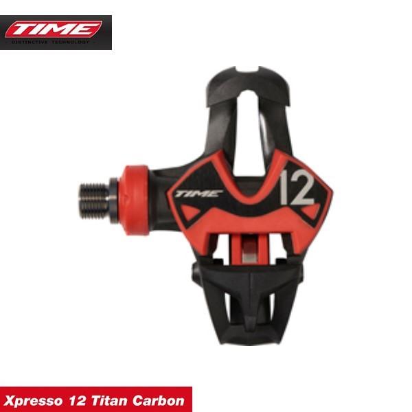 (送料無料)(TIME)タイムPEDAL ペダル Xpresso 12 Titan Carbon エックスプレッソ12チタンカーボン (左右ペア)(1002-----0010)