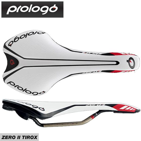 (送料無料)(Prologo)プロロゴ Saddle サドル ZERO 2 Triox ゼロ2 Tirox ホワイトブラック(4711946197698)