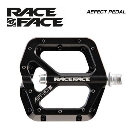 (RACE FACE) レースフェイス PEDAL ペダル AEFECT PEDAL ブラック(0895428014698)