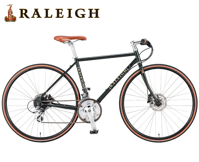 (選べる特典付)クロスバイク 2020 RALEIGH ラレー RFT Radford Traditional ラドフォード・トラディショナル ウィステリアパープル 24段変速 700C クロモリ