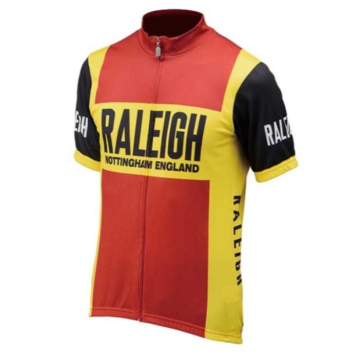 (ネコポス便で送料無料) RALEIGH ラレー TEAM TI REPLICA JERSEY レプリカジャージ 半袖 サイクルウェア アパレル