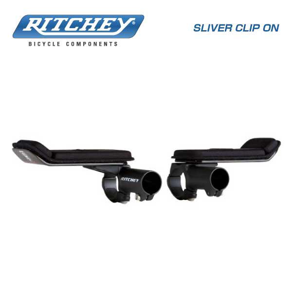 (RITCHEY)リッチー SILVER CLIP ON シルバークリップオン Ф31.8mm