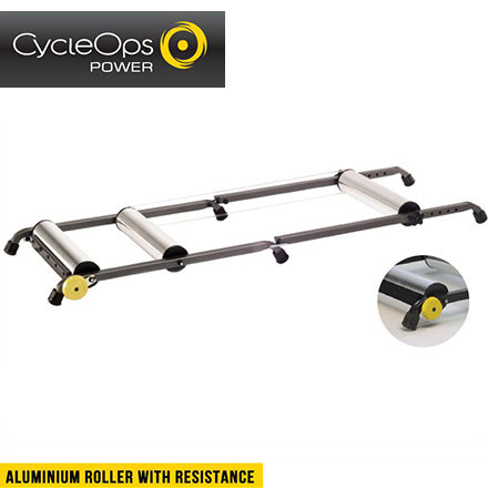 ROLLER トレーナー サイクルオプス RESISTANCE ALUMINIUM ローラー(レジスタンス付)(990110)(4580366261551) WITH アルミニウム (送料無料)CycleOps