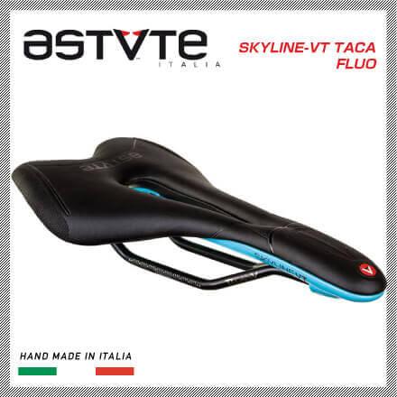 (送料無料)(ASTVTE)アスチュート SADDLE サドル SKYLINE-VT TACA FLUO スカイラインVT TACAフルオ ブラックブルー(8054615210424)