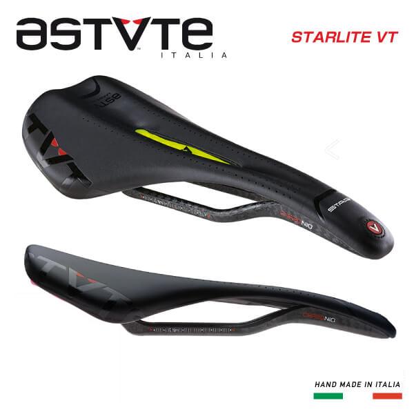 (送料無料)(ASTVTE)アスチュート SADDLE サドル STARLITE-VT スターライトVT ブラックイエロー(8054615210899)