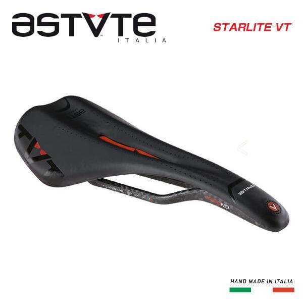 (送料無料)(ASTVTE)アスチュート SADDLE サドル STARLITE-VT スターライトVT ブラックレッド(8054615210905)