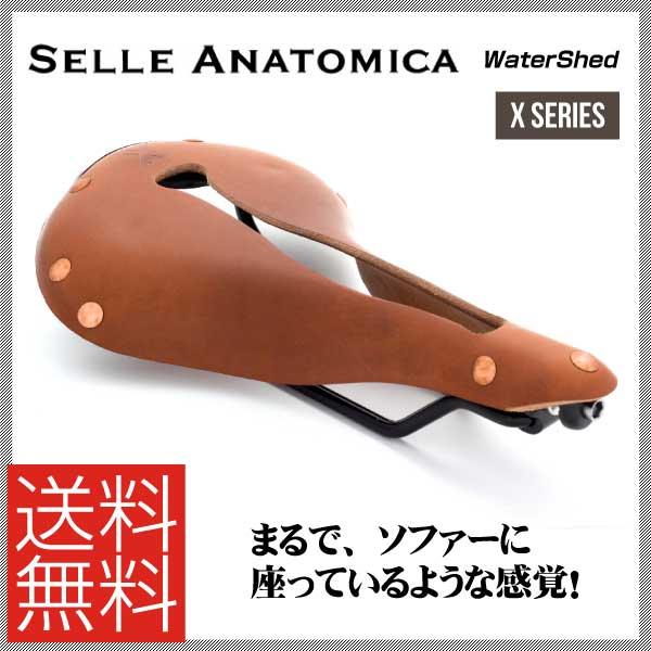(送料無料)(SELLE ANATOMICA)セラアナトミカ SADDLE サドル Xシリーズ WaterShed (ウォーターシェッド) ヴィンテージ(819879011044)