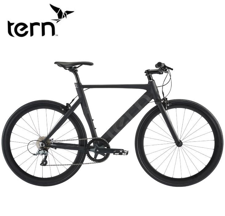 (選べる特典付!)クロスバイク 2020 TERN ターン RIP リップ マットブラック 8段変速 SHIMANO CLARIS