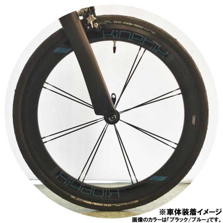 """TERN ターン Kinetix Pro Deep Dish Front Wheel キネティクスプロディープディッシュ フロントホイールのみ 20""""(451) クリンチャー ※QRなし Surge Pro純正"""