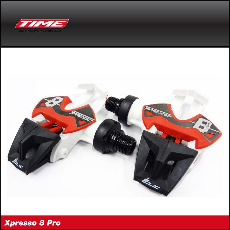 (送料無料)(TIME)タイムPEDAL ペダル Xpresso 8 Pro エックスプレッソ8プロ(左右ペア)(1002-----0020)