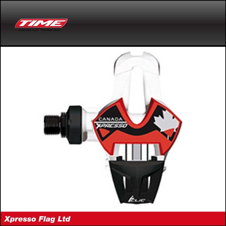 (送料無料)(限定)(TIME)タイムPEDAL ペダル Xpresso Flag エクスプレッソ国旗モデル カナダ(9810101108220)