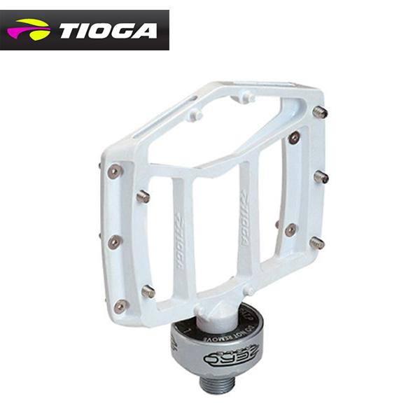 (TIOGA) タイオガ PEDAL ペダル MT-ZERO-01 MT-ゼロ-01 ホワイト(左右ペア)(PDL10902)(4935012027980)