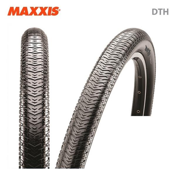 MAXXIS マキシス TIRE クリンチャータイヤ DTH ブラック(1本)