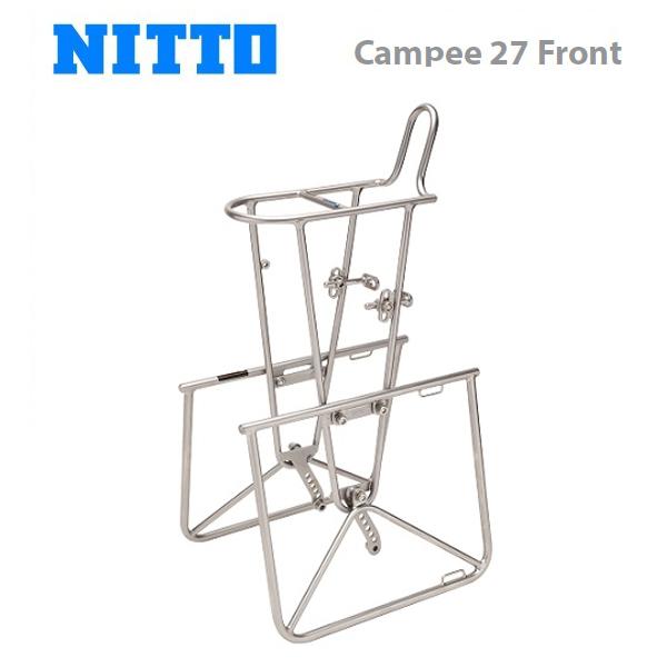 (送料無料)NITTO 日東 キャリア Campee 27 Front キャンピー 27 フロント (CAF02000)(4582350850093)