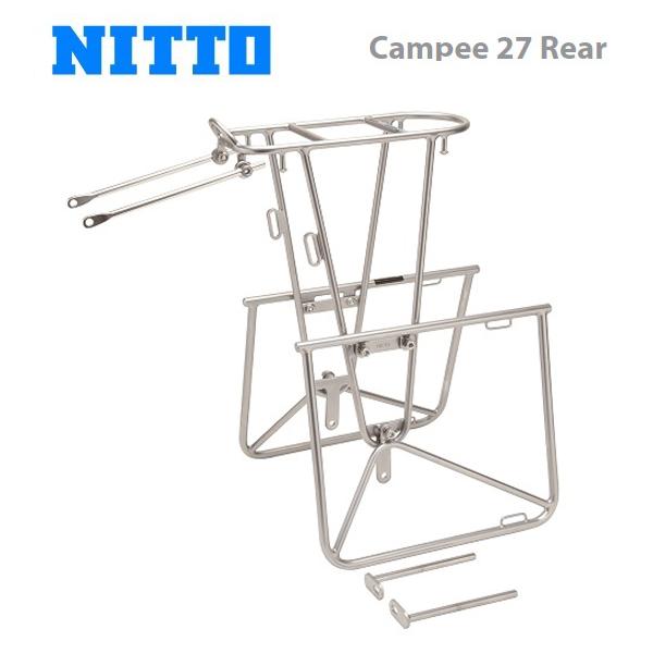 (送料無料)NITTO 日東 キャリア Campee 27 Rear キャンピー 27 リア(CAR10400)(4582350850109)