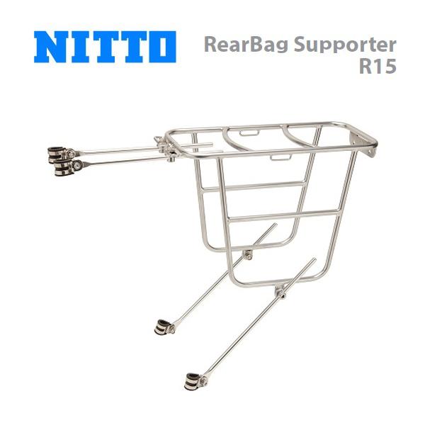 (送料無料)NITTO 日東 キャリア RearBag Supporter R15 リアバッグサポーター R15(CAR10700)(4582350850321)