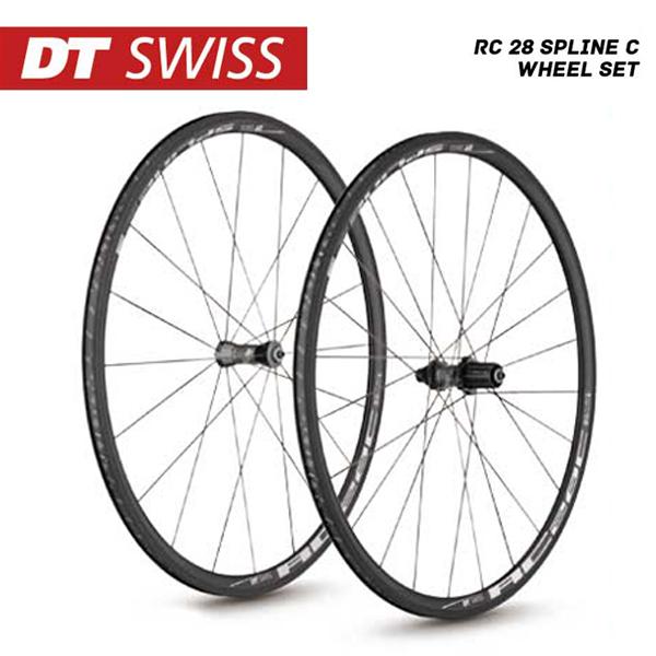 (送料無料)DT SWISS DT スイス チューブレスレディ ホイール RC-28 Spline C Wheel Set RC28スプラインC ホイールセット シマノ(10S 11S対応) (4935012339359)