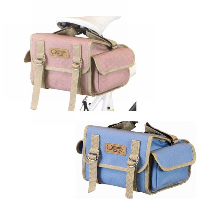 OATRICH オーストリッチ SP-731 Canvas Saddle Bag SP-731 帆布 サドルバッグ サックス ピンク サドルバッグ
