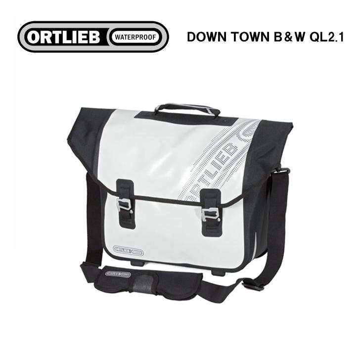 ORTLIEB オルトリーブ Black'n White LINE シリーズ DOWN TOWN B&W QL2.1 ダウンタウン B&W QL2.1 ホワイト