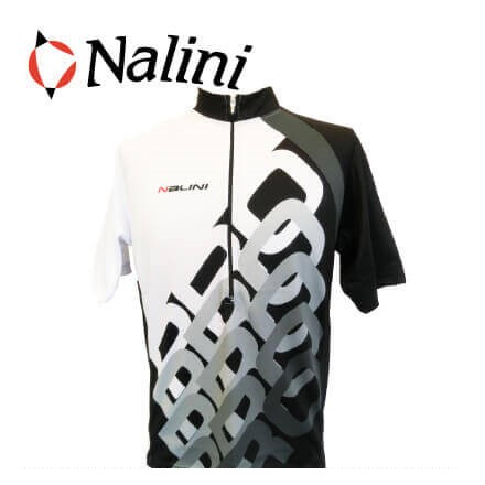 (SALE)(送料無料)(限定)(Nalini)ナリーニ WEAR ウェア INFINITY インフィニティ ホワイトブラック Lサイズ(8056516051847)