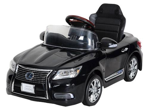 [日本製] 電動 新型レクサス LS600hL Sライトブラック NLK-B バッテリーカー 【送料無料(北海道・沖縄を除く)!!】 A-KIDS ミズタニ 電動乗用 充電式 LEXUS ※包装不可※