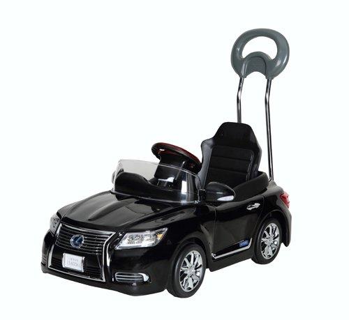 [日本製] NEW レクサス LS600hL  ペダルカー スターライトブラック 押し手付 【送料無料(北海道・沖縄県除く)】 ミズタニ A-KIDS 乗用 車 足こぎ のりもの