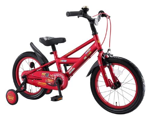 アイデス カーズ3自転車 16インチ レッド<完成品>★今なら自転車カバープレゼント!【クレジットOK!】アイデス ides 子供用自転車
