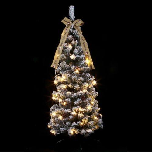 クリスマスフォールディングスノーツリー150cm(LED付) WG-6945【送料無料(北海道・沖縄を除く)】クリスマスにはこれ!クリスマスツリーを飾ろう♪