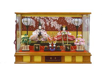 親王ケース飾り 0123S3832469【送料無料!】かわいい雛人形と一緒に楽しくお祝しましょぅ♪ひな人形【smtb-k】【ky】