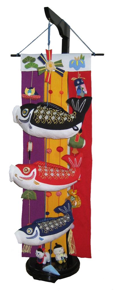 特価 室内用 特大鯉のぼり掛け軸風 『特大』 (スタンド付き) TANG-007【送料無料!クレジットOK!】ちりめん 鯉のぼり こいのぼり 吊るし飾り 端午の節句, hobbyshop KUME:a4004082 --- kventurepartners.sakura.ne.jp