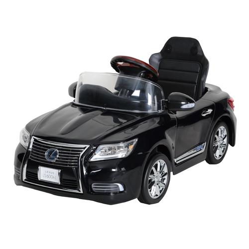 [日本製] NEW レクサス LS600hL ペダルカー スターライトブラック  押し手なし LS-N 【送料無料(北海道、沖縄を除く)】 LEXUS 足こぎ式 乗用 のりもの 車 ミズタニ A-KIDS