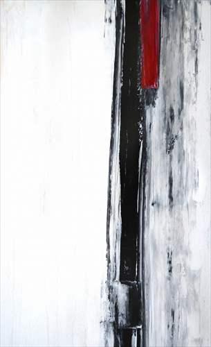 【送料無料】パネルフレーム インテリアパネル Black and White Abstract Art Painting IAP51603 キャンバス モダンアート 530×800mm インテリア 【取寄品】【プレゼント】 【のし利用可】【全品ポイント10倍】3800円で送料無料クーポン4/16深夜2時まで