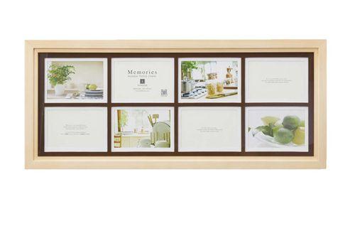 Velkommen: Wedding memories wooden picture frames 8 Windows natural ...