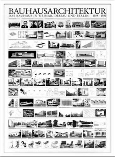 Bauhaus バウハウス Architektur1919-1933 IBH70041 額付グラフィックアートポスター 取寄品 のし利用可