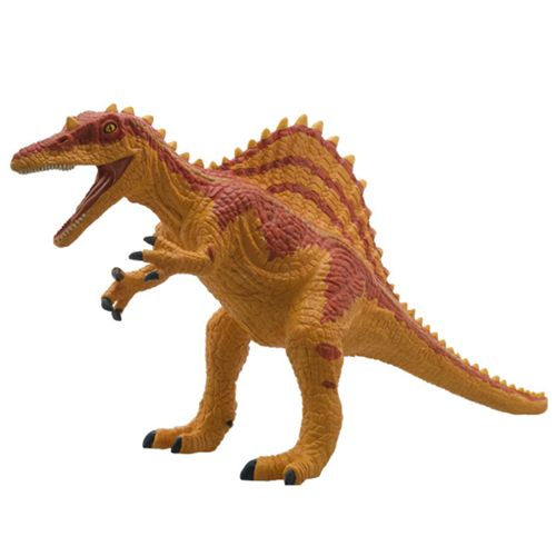 フェバリット (人気激安) ダイナソー 置物 玩具 柔らか 恐竜グッズベルコモン ビッグサイズフィギュア NEW ARRIVAL スピノサウルス ソフトビニールモデル 遊べる